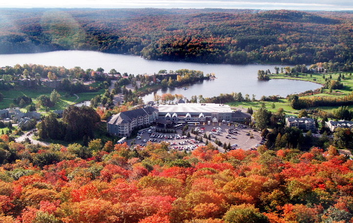 Deerhurst Resort-Deerhurst Resort in Fall<br/>Image from Leonardo