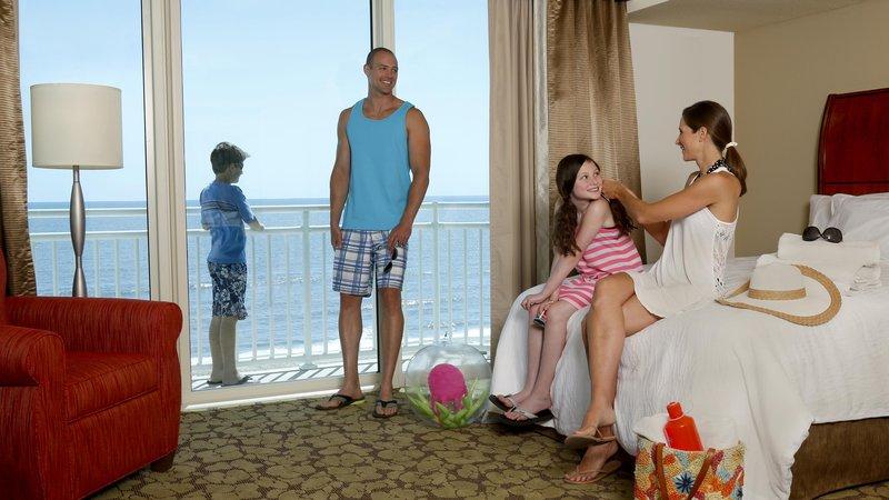 Hilton Garden Inn Virginia Beach Oceanfront-Family Getting Ready for Beach<br/>Image from Leonardo