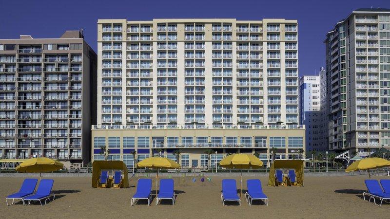 Hilton Garden Inn Virginia Beach Oceanfront-Beach<br/>Image from Leonardo