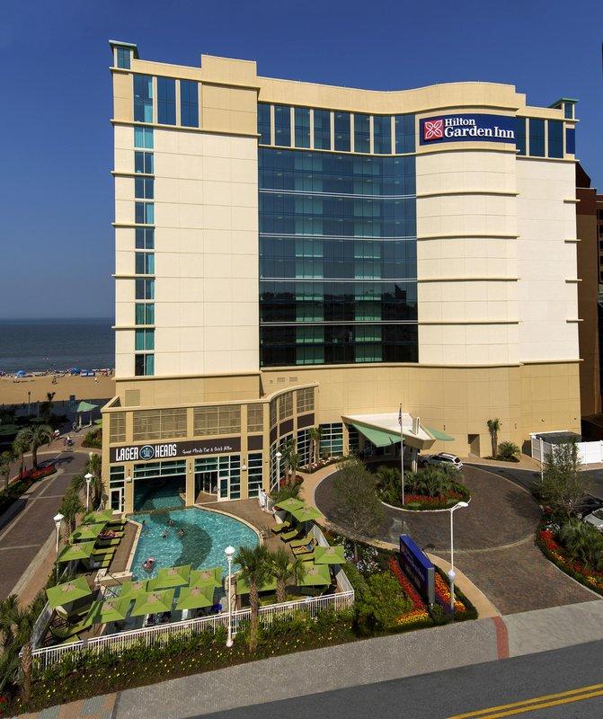 Hilton Garden Inn Virginia Beach Oceanfront-Hilton Garden Inn Virginia Beach Oceanfront Exterior<br/>Image from Leonardo