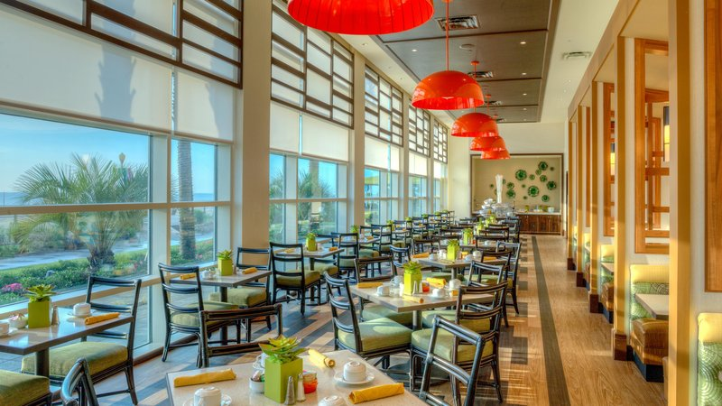 Hilton Garden Inn Virginia Beach Oceanfront-Garden Grille Dining Area<br/>Image from Leonardo