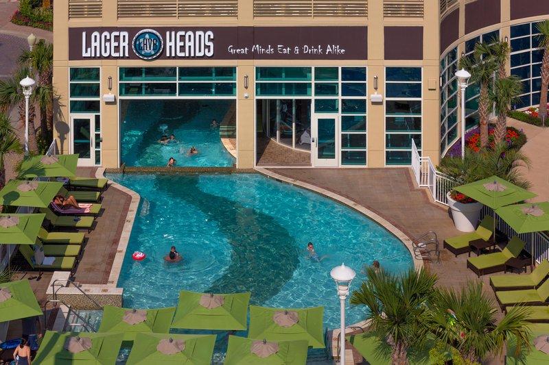 Hilton Garden Inn Virginia Beach Oceanfront-Pool<br/>Image from Leonardo