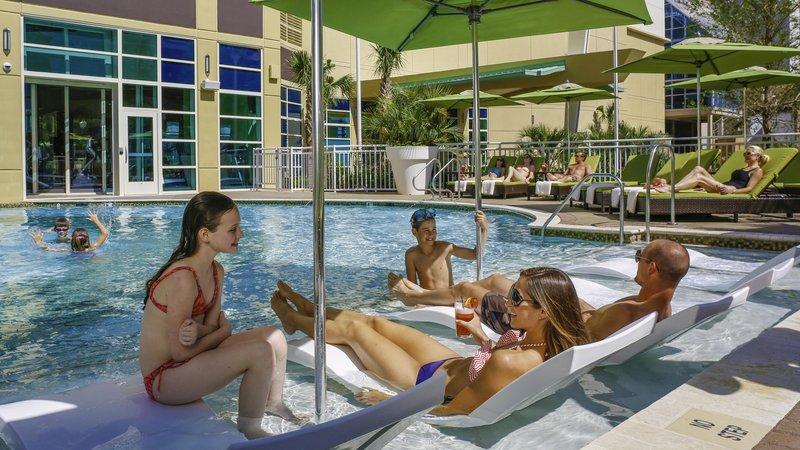 Hilton Garden Inn Virginia Beach Oceanfront-Outdoor Pool with Family<br/>Image from Leonardo