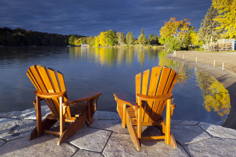 Deerhurst Resort-Peninsula Lake<br/>Image from Leonardo