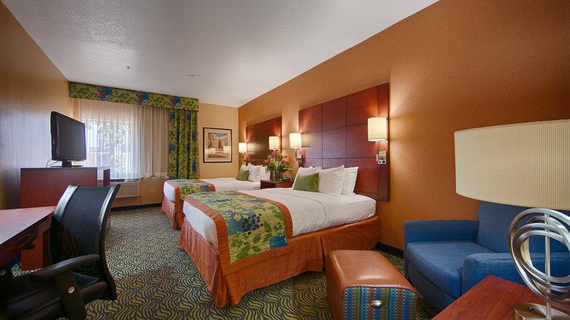 Best Western Plus Fresno Inn-Two Queen Guest Room<br/>Image from Leonardo