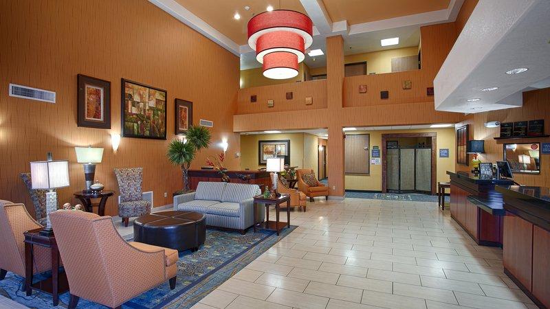 Best Western Plus Fresno Inn-Lobby<br/>Image from Leonardo