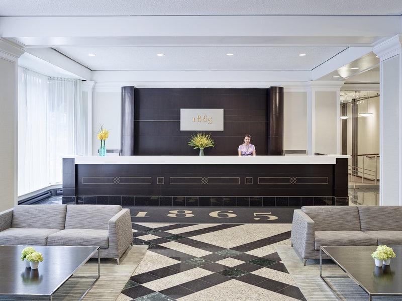 Chelsea Hotel Toronto-1865 Check-In Desk<br/>Image from Leonardo