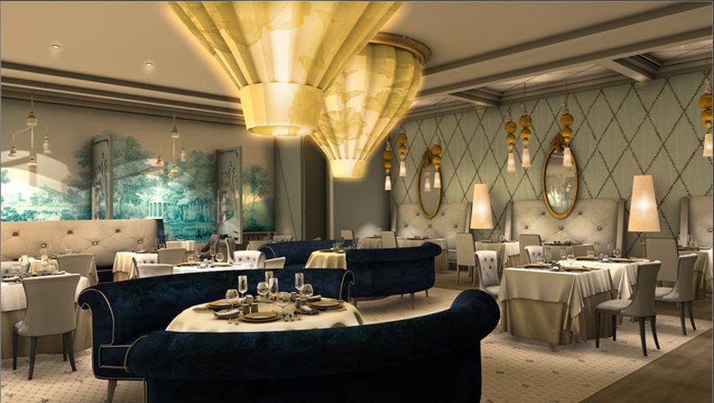 Secrets Playa Mujeres - RestaurantBordeaux <br/>Image from Leonardo