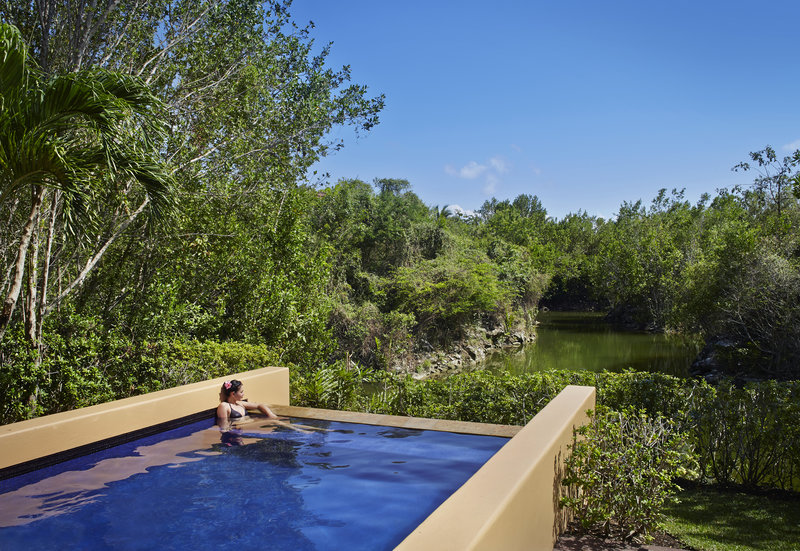Fairmont Mayakoba - Spa Pool Villa with Massage Porch <br/>Image from Leonardo