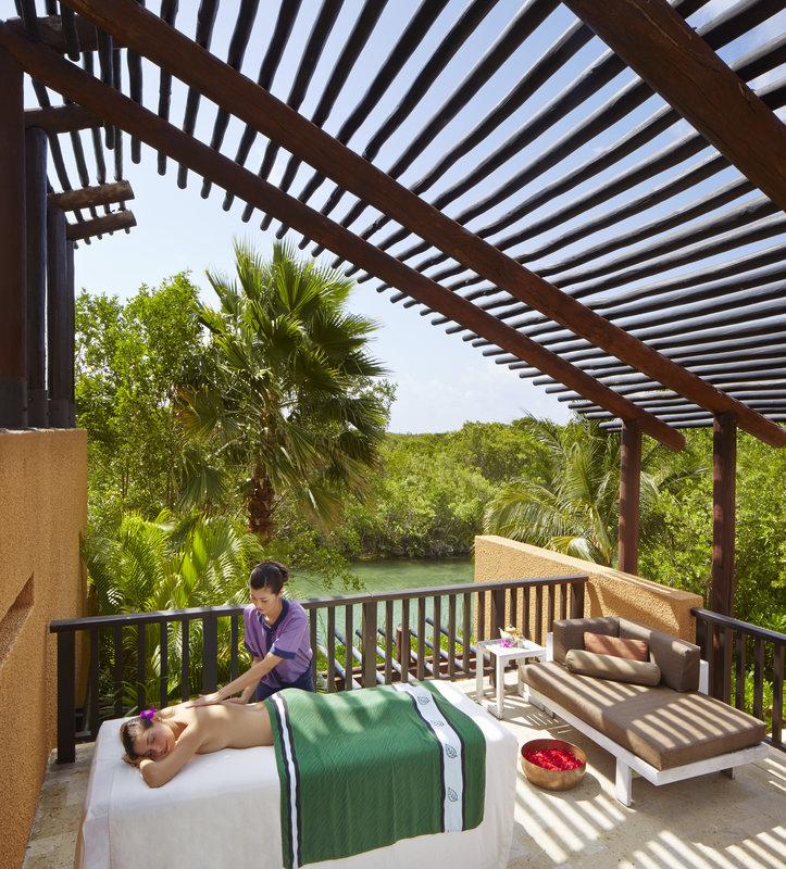 Fairmont Mayakoba - Outdoor Spa Treatment <br/>Image from Leonardo