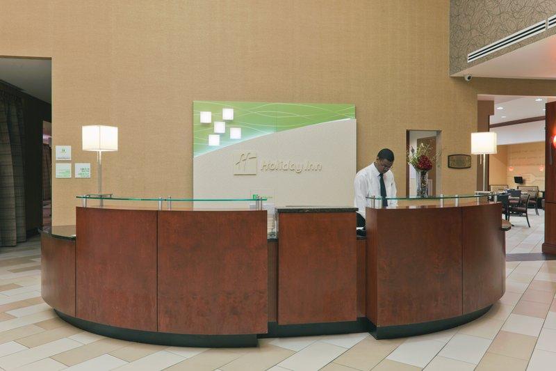 Holiday Inn Hotel & Suites Lima-Front Desk<br/>Image from Leonardo