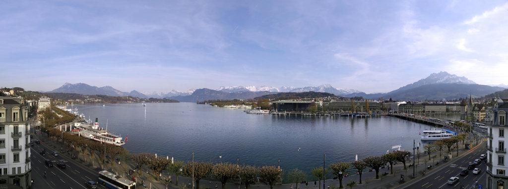 Hotel Schweizerhof Luzern-Hotel Panorama View<br/>Image from Leonardo