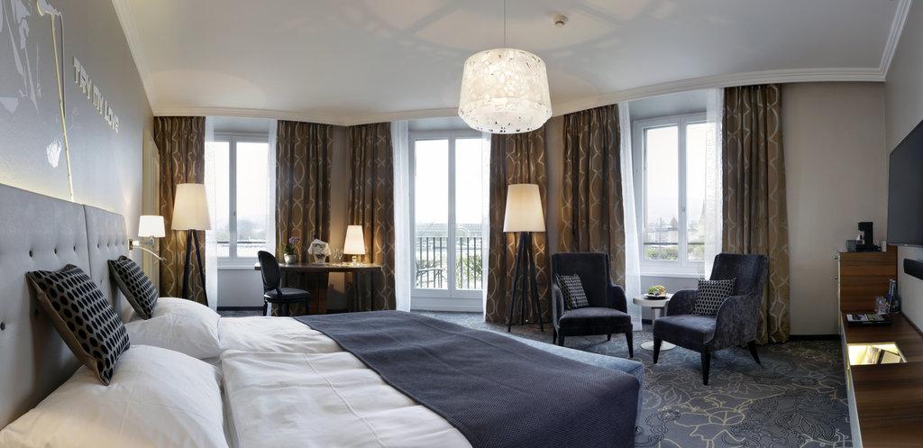 Hotel Schweizerhof Luzern-Rooms Junior Suite Panorama<br/>Image from Leonardo