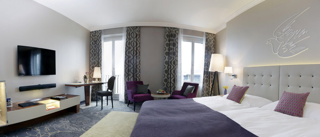 Hotel Schweizerhof Luzern-Rooms Superior Double Room Panorama<br/>Image from Leonardo