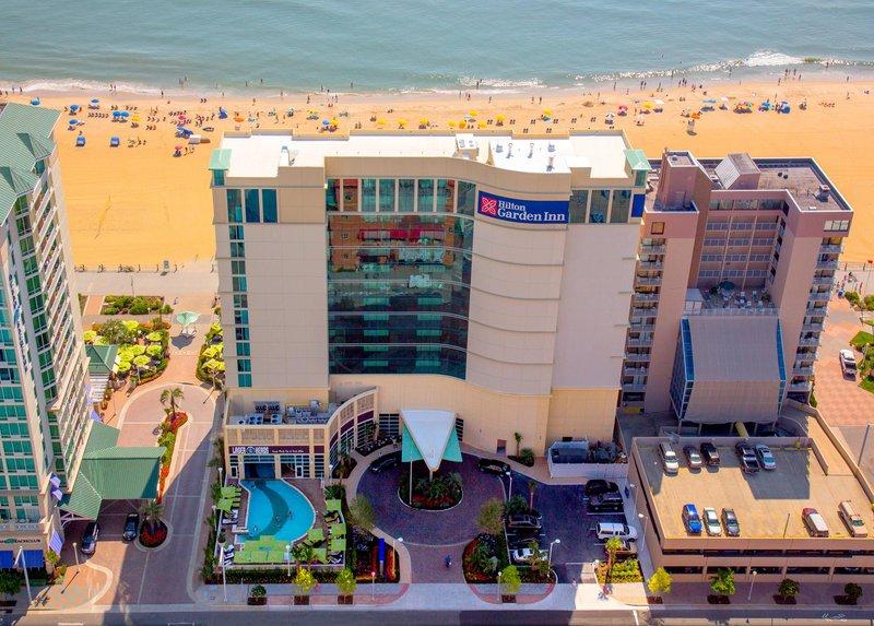 Hilton Garden Inn Virginia Beach Oceanfront-Cityside Aerial View<br/>Image from Leonardo