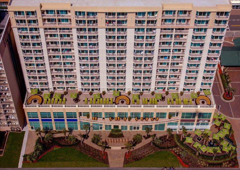 Hilton Garden Inn Virginia Beach Oceanfront-Oceanside Aerial View<br/>Image from Leonardo