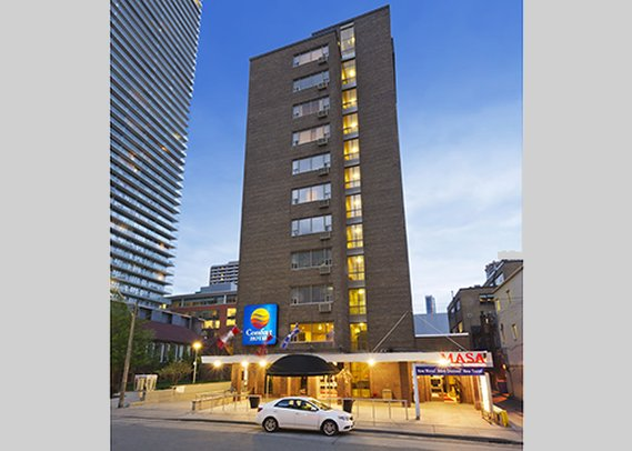 Comfort Hotel Downtown Toronto-Exterior<br/>Image from Leonardo
