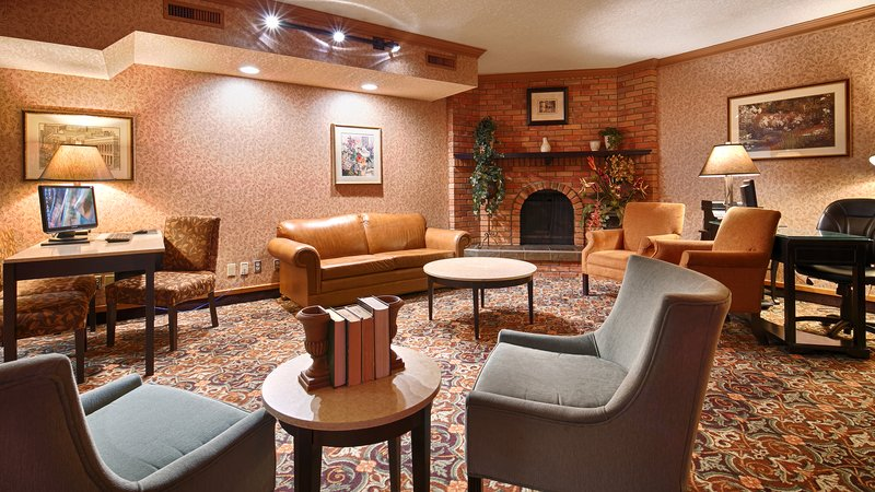 Best Western Plus Port OCall Hotel-Lobby Business Center<br/>Image from Leonardo