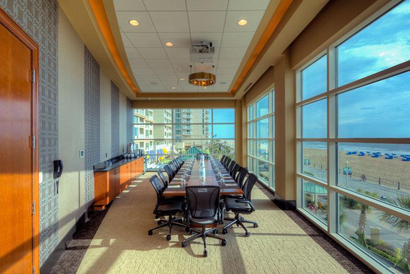 Hilton Garden Inn Virginia Beach Oceanfront-Executive Boardroom<br/>Image from Leonardo
