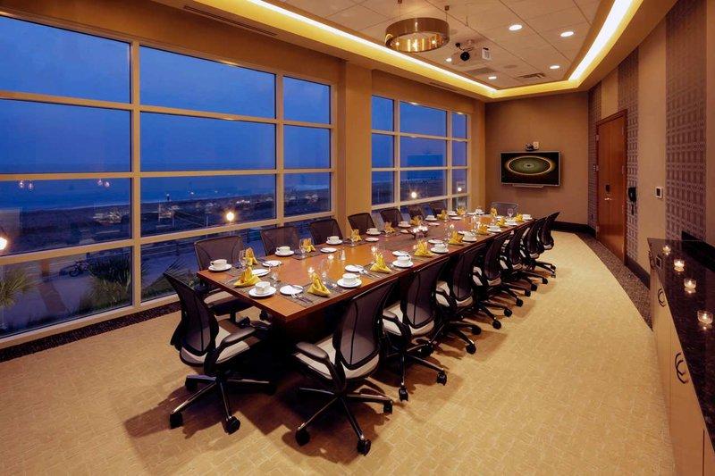 Hilton Garden Inn Virginia Beach Oceanfront-Executive Boardroom at Dusk<br/>Image from Leonardo