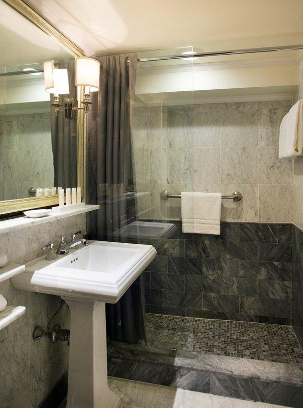 Eliot Apartment Suites-Bathroom at The Eliot Hotel Boston<br/>Image from Leonardo