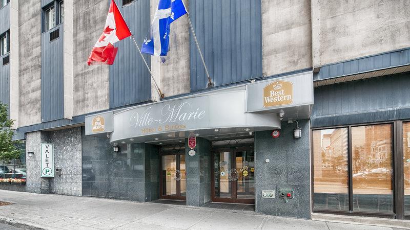 Best Western Ville-Marie Montreal Hotel  Suites-Exterior<br/>Image from Leonardo