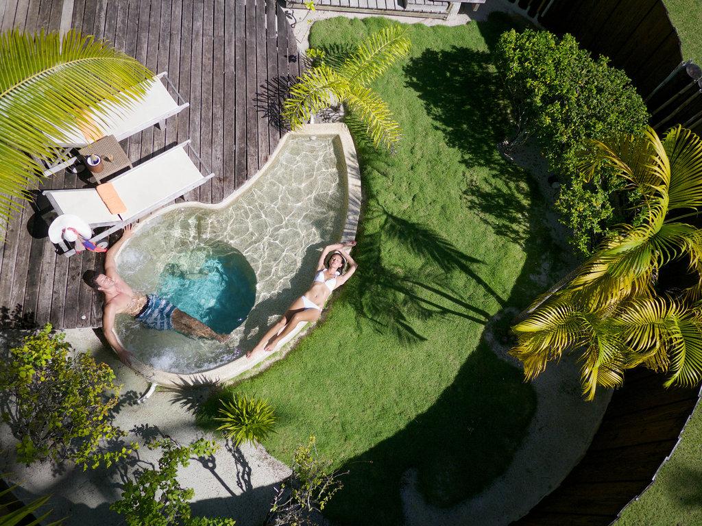 Bora Bora Pearl Beach Resort-Garden Pool Bungalow<br/>Image from Leonardo