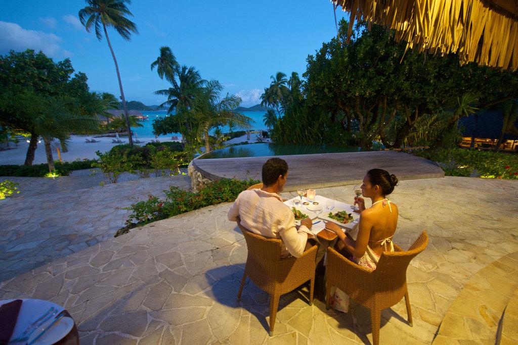 Bora Bora Pearl Beach Resort-Restaurant<br/>Image from Leonardo