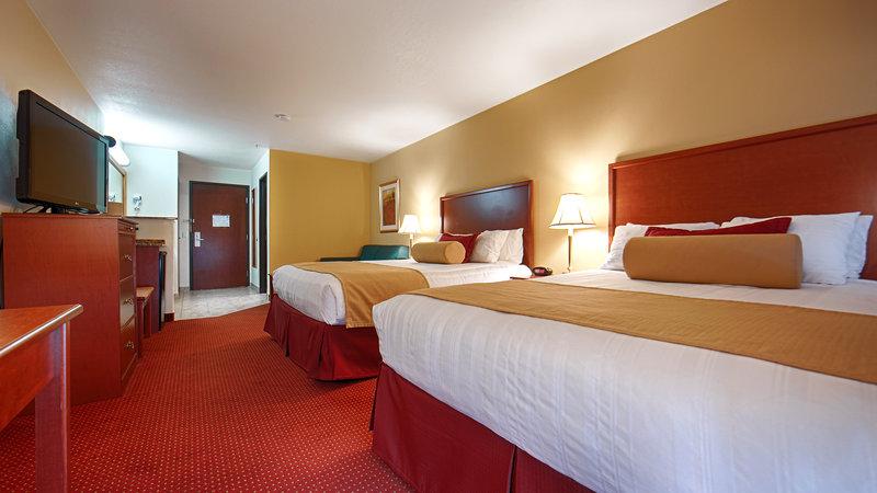 Best Western Plus Walla Walla Suites Inn-Two Queen Guest Room<br/>Image from Leonardo