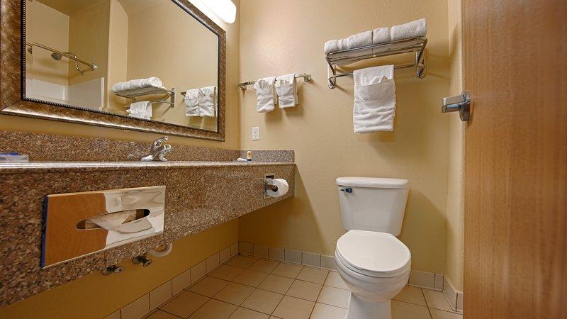 Best Western Plus Tulsa Inn  Suites-Bathroom<br/>Image from Leonardo