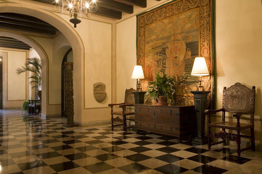 Hotel El Convento - Hotel Lobby Entrance <br/>Image from Leonardo