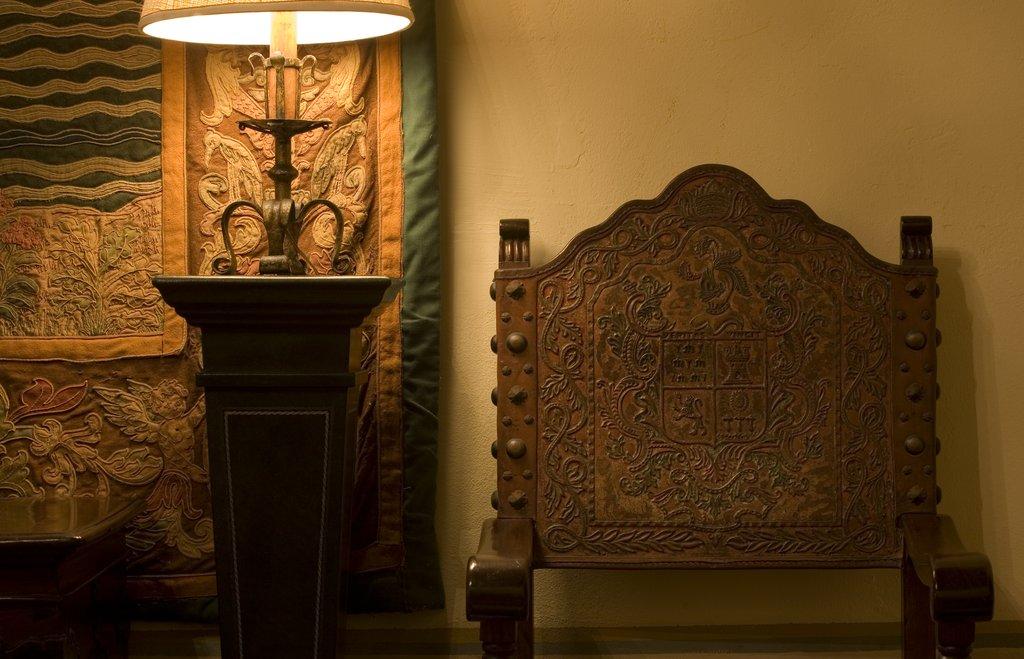 Hotel El Convento - Lobby <br/>Image from Leonardo