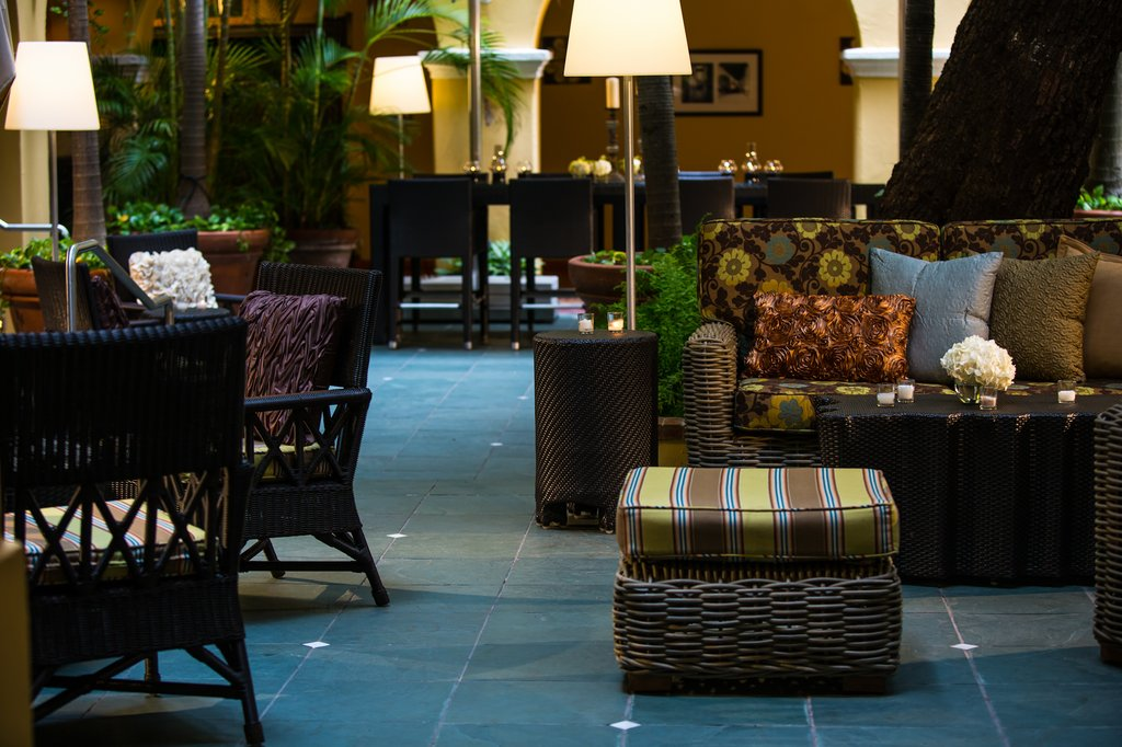 Hotel El Convento - Patio Lounge <br/>Image from Leonardo