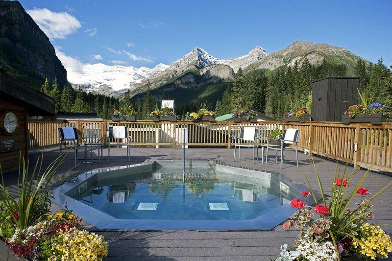 Deer Lodge-Hot Tub Lake Louise<br/>Image from Leonardo