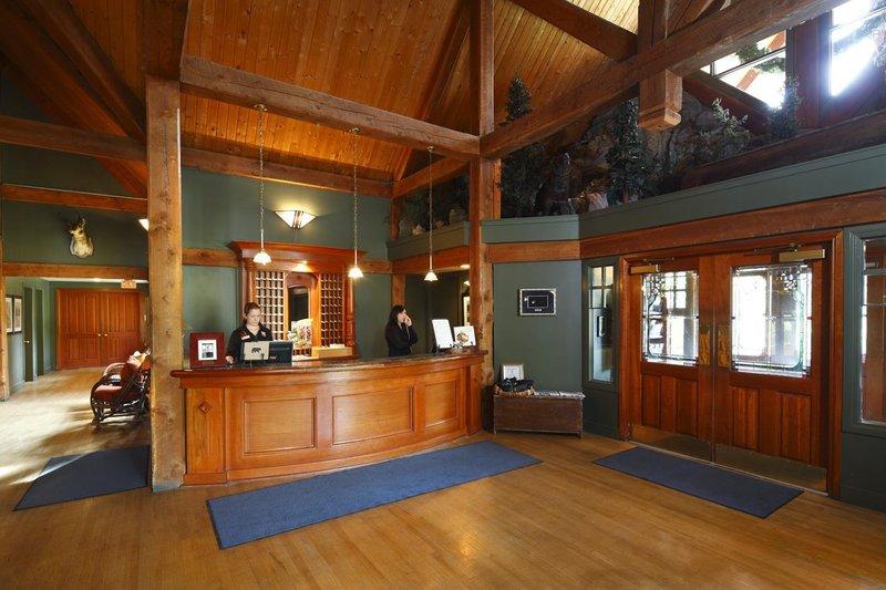 Buffalo Mountain Lodge-Front Desk<br/>Image from Leonardo