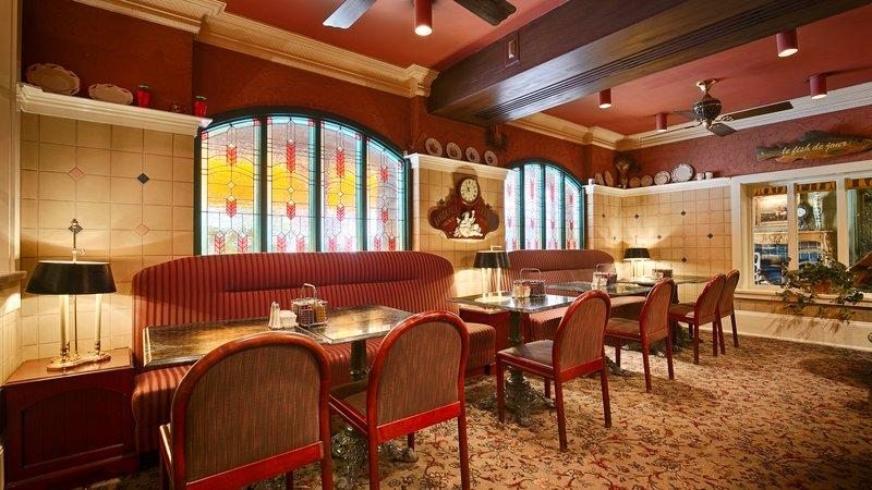 Best Western Fireside Inn-Breakfast Area<br/>Image from Leonardo