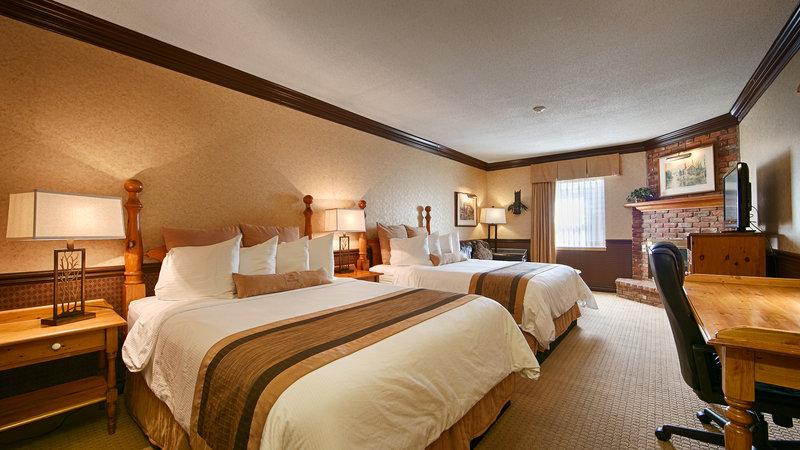Best Western Fireside Inn-Two Queen Bedroom<br/>Image from Leonardo