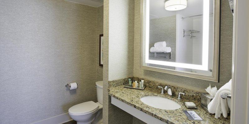 Hilton Baton Rouge Capitol Center-Carolyn Suite Bathroom<br/>Image from Leonardo