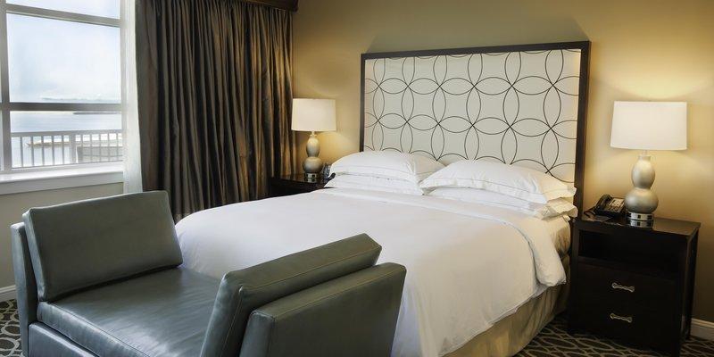 Hilton Baton Rouge Capitol Center-Carolyn Suite Bedroom Right<br/>Image from Leonardo