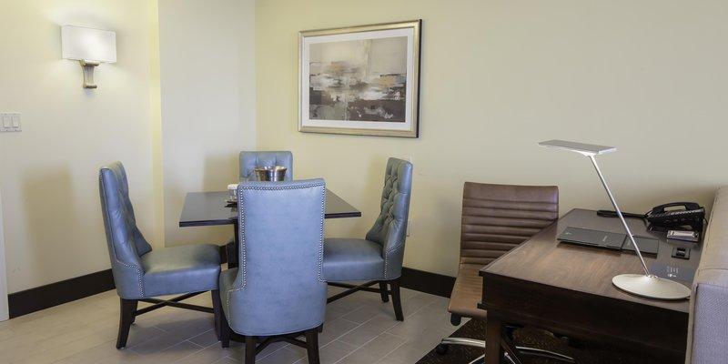Hilton Baton Rouge Capitol Center-Jr Suite Dining<br/>Image from Leonardo