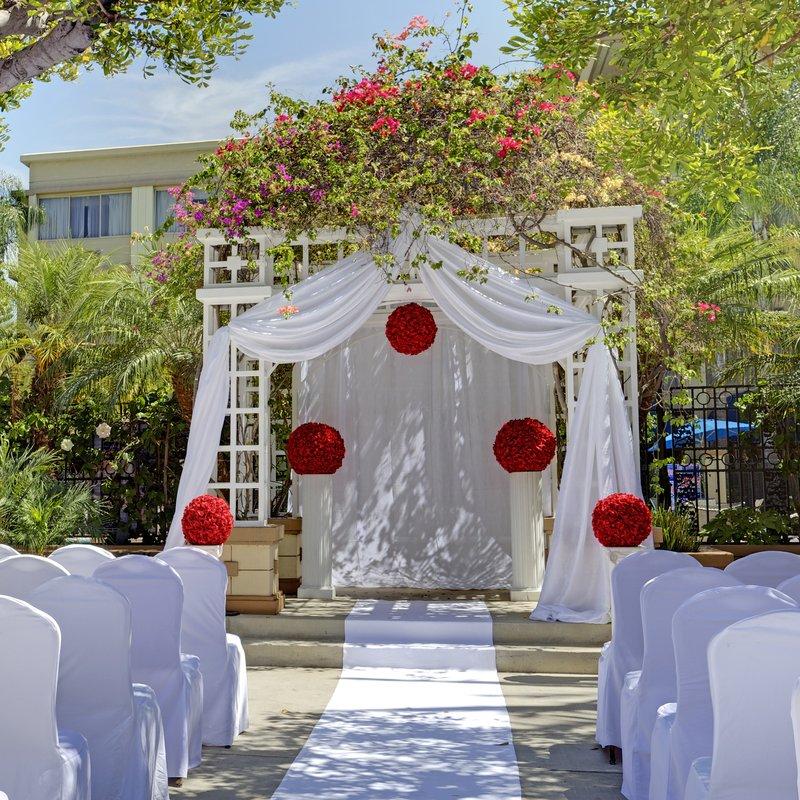 Holiday Inn Buena Park-Near Knott's-Beautiful Wedding Gazebo<br/>Image from Leonardo