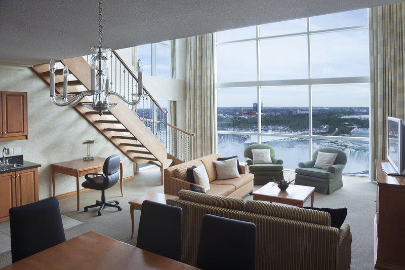 Marriott Niagara Falls on the Falls-Grand Presidential Living Area<br/>Image from Leonardo