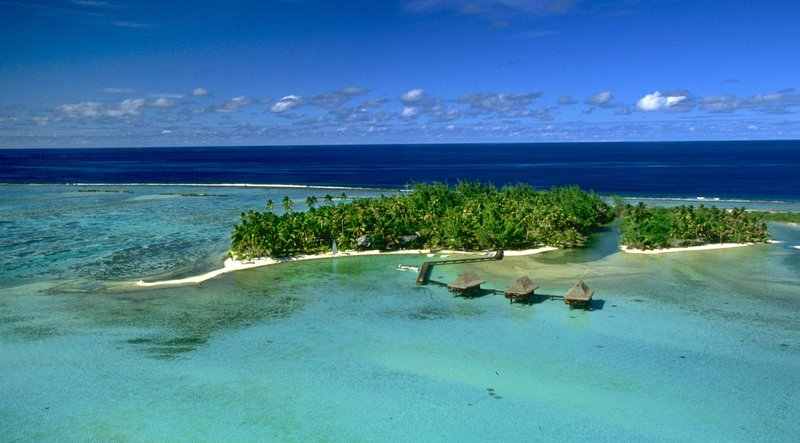 Vahine Island-A Polynesian paradise on a private tropical island<br/>Image from Leonardo