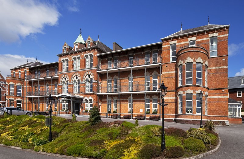 Ambassador Hotel Cork-Exterior of Ambassdor Hotel Cork City<br/>Image from Leonardo