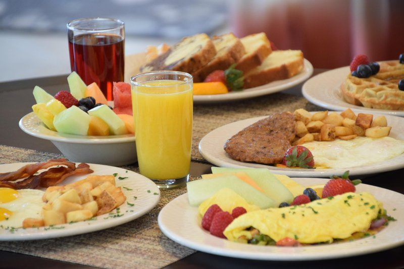 Hilton Garden Inn Dayton Beavercreek-Breakfast Food<br/>Image from Leonardo