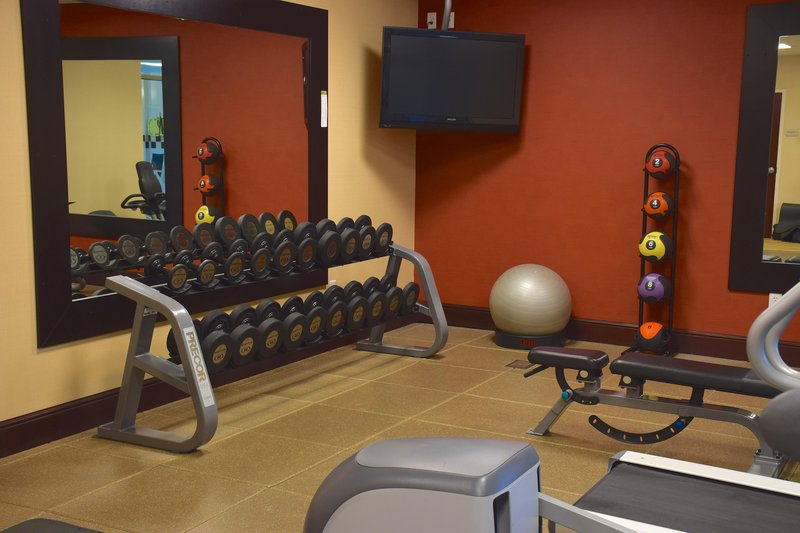 Hilton Garden Inn Dayton Beavercreek-Fitness Center Weights<br/>Image from Leonardo