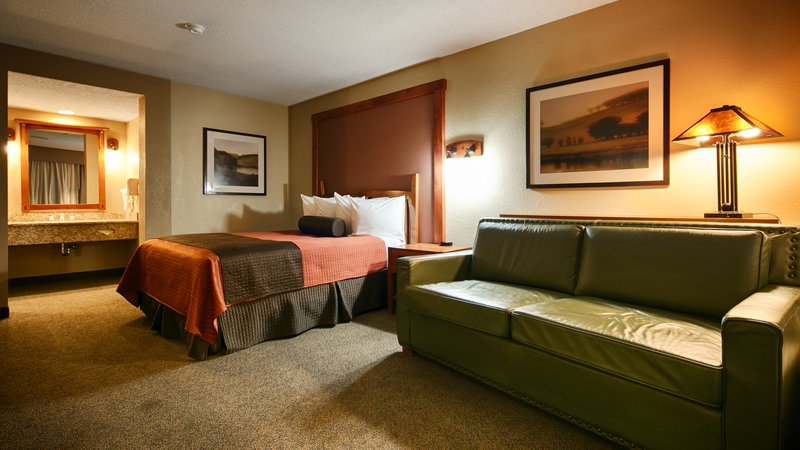 Best Western Plus High Country Inn-Guest Room<br/>Image from Leonardo