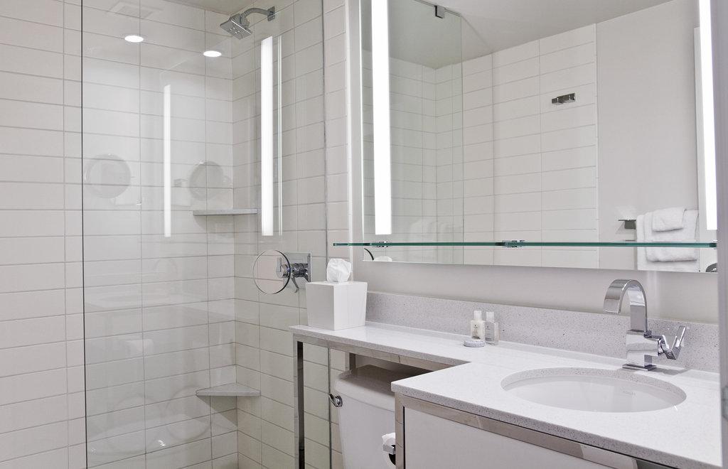The Garland (Beverly Garland) - Standing Shower Bathroom <br/>Image from Leonardo