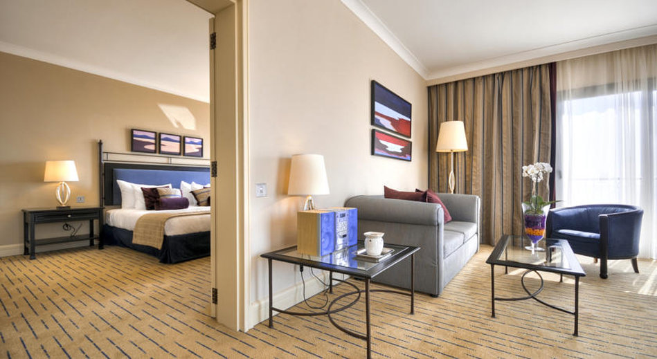 Corinthia Hotel St. George's Bay-Deluxe Suite<br/>Image from Leonardo