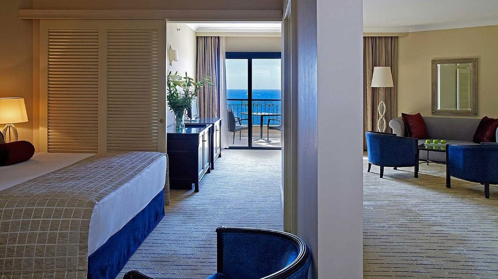 Corinthia Hotel St. George's Bay-Junior Suite Sea View<br/>Image from Leonardo